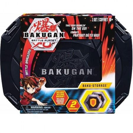 Бакуган кейс Baku-Storage Case red (1070): Aurelus Dragonoid