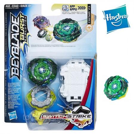 Beyblade Burst Evolution Фафнир Fafnir F3 оригинал Hasbro: Fafnir F3 Green