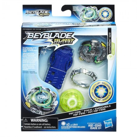 Beyblade Burst Evolution Вайрон Wyvron W2 оригинал Hasbro: Wyvron W2