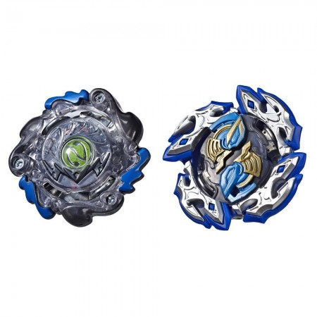 Beyblade Burst Turbo Slingshock Dual Pack Dullahan D4 and Dark-X Nepstrius N4 оригинал Hasbro: Dullahan D4 and Dark-X Nepstrius N4