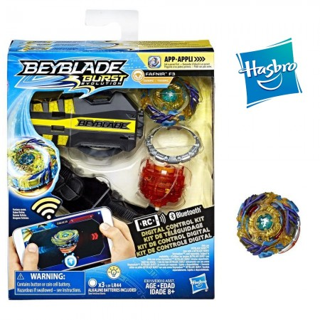 Beyblade Burst Evolution Фафнир F3 Fafnir F3 Digital Control Kit: Fafnir F3 Digital Control Kit