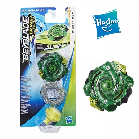 Beyblade Burst Turbo Slingshock Flame-X Diomedes D4, Multicolor оригинал Hasbro: Diomedes D4