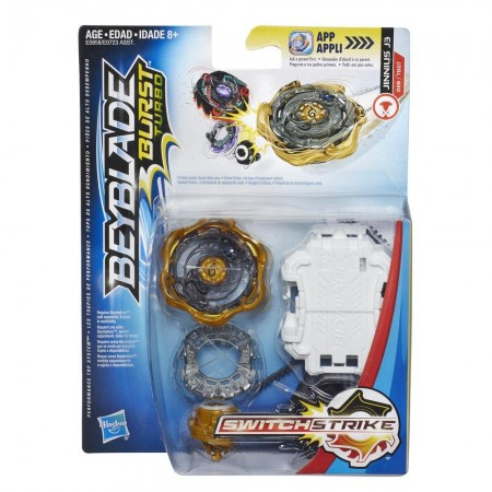 Beyblade Burst Turbo SwitchStrike Джинниус Jinnius J3 Starter Pack оригинал Hasbro: Jinnius J3