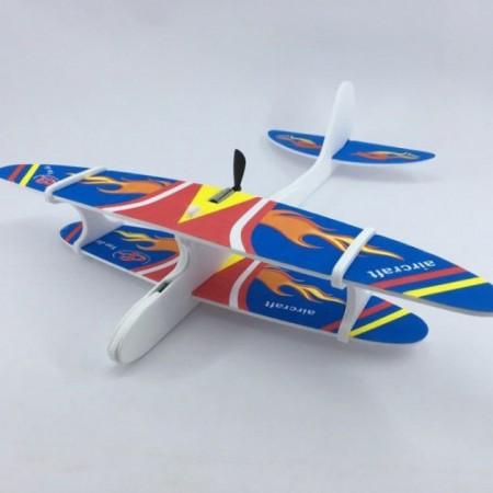 Метательный планер-самолет с моторчиком и USB зарядкой: Метательный планер с моторчиком и USB зарядкой