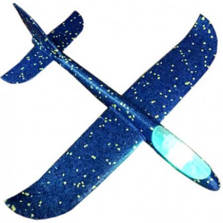 Cамолет планер метательный со светящейся кабиной UFT Touch Sky Plane original 48 см (G2): UFT Touch Sky Plane
