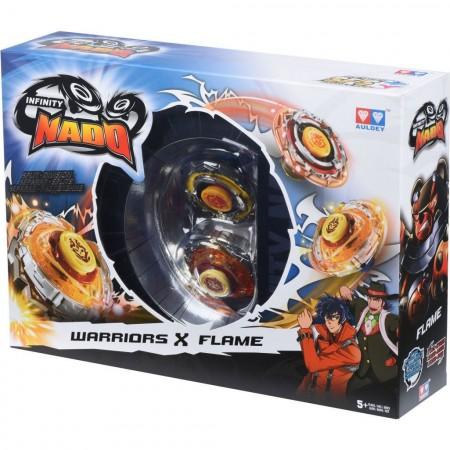 Волчок Auldey Infinity Nado — Battle Buddha и Blast Flame. Сплит (3906): Battle Buddha и Blast Flame
