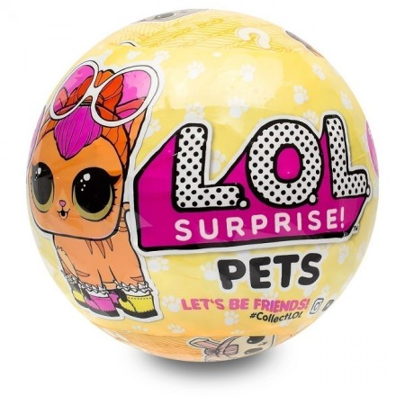 L.O.L. Surprise Pets Styles May Vary S3 (оригинал MGA) (3804): Pets Styles May Vary S3