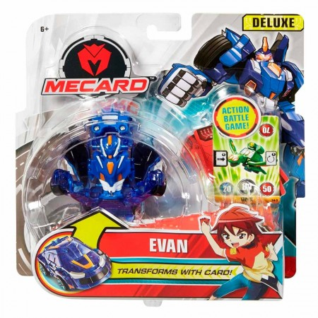 Машинка-трансформер Мекард Эван Mecard Evan Deluxe: Evan
