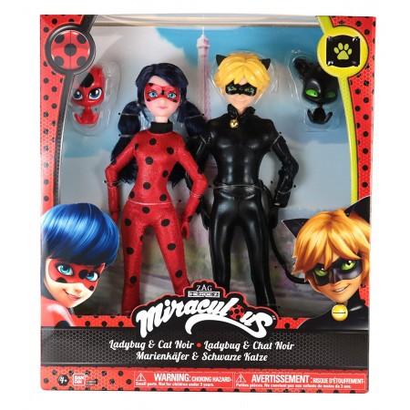 Набор Леди Баг и Супер Кот 26 см от Miraculous (5307): Ladybug and Cat Noir