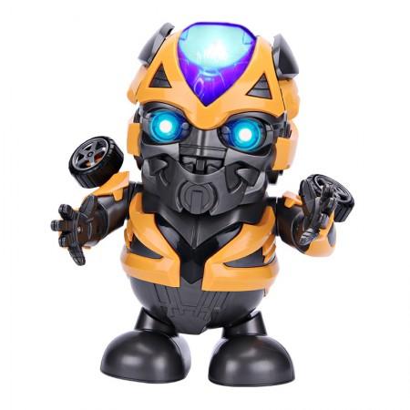 Танцующий робот Dance Hero Bumblebee (трансформер Бамблби) (1081)