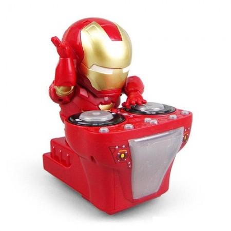 Танцующий робот Dance Hero DJ Iron Man (Железный человек DJ) (1082)