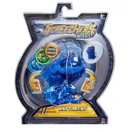 Дикий cкричер Рэттлкэт Rattlecat Screechers Wild L2 (5003): Rattlecat