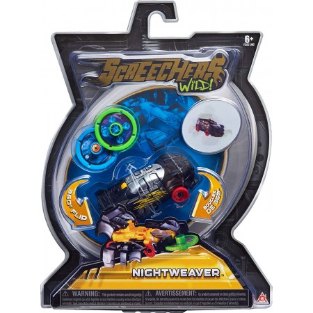 Дикий cкричер Найтвивер Nightweaver Screechers Wild L1 (5007): Nightweaver