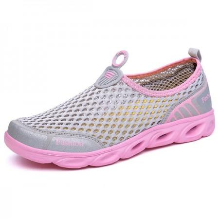 Аквашузы Fashion (Pink/Grey)  (1027): Fashion Pink