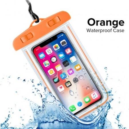 Водонепроницаемый чехол Waterpoof (orange) (арт. 1087): Orange