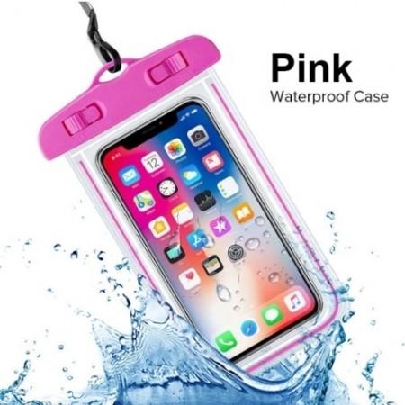 Водонепроницаемый чехол Waterpoof (pink) (арт. 1086): Pink