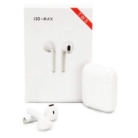 Беспроводные наушники в кейсе HBQ i10 MAX TWS (белые): HBQ I10 MAX TWS