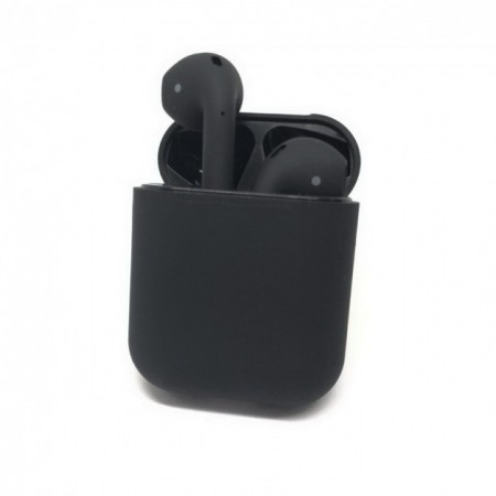 Беспроводные наушники в кейсе HBQ I12 TWS (черные): HBQ I12 TWS